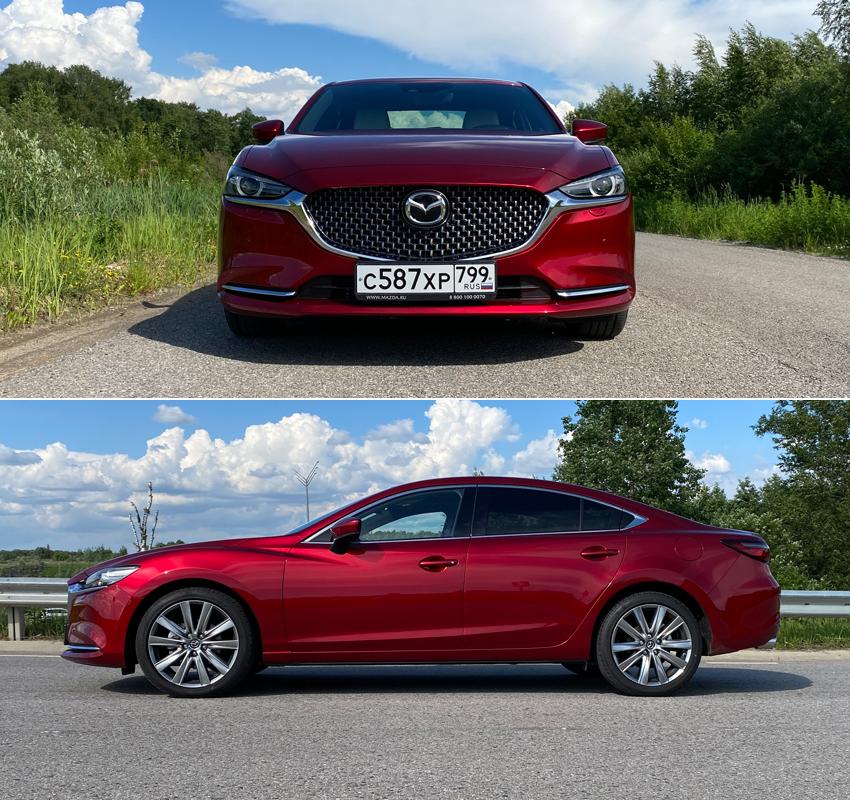 Тест-драйв Mazda 6: Шаг в «премиум»